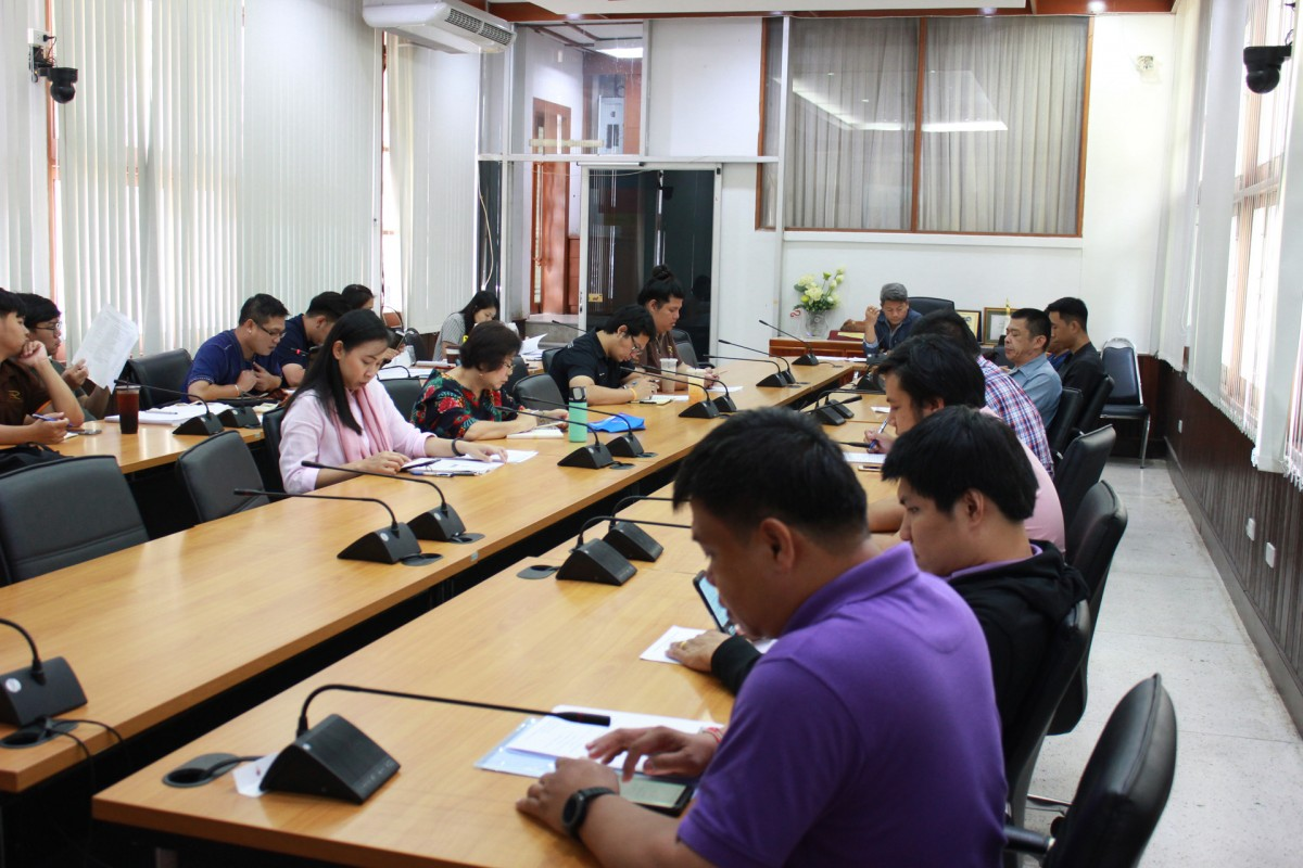 Cultural Studies Center Organized the 5th meeting to prepare for participation in the Loy Krathong Parade Contest 2019