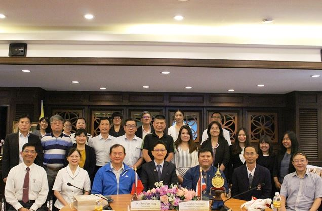 Conference with the delegation from the Taipei Economic and Cultural Office in Thailand and universities in Taiwan