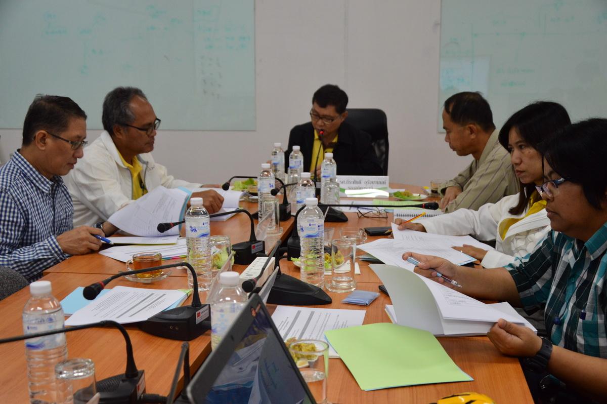 คณะวิทย์ฯ ประชุมวางแผนโครงการบัณฑิตพันธุ์ใหม่