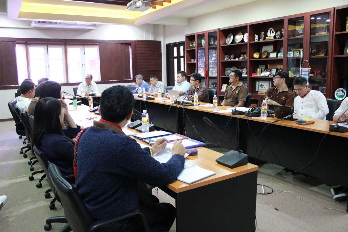 ศูนย์วัฒนธรรมศึกษา จัดประชุมเพื่อสรุปผลการเข้าร่วมประกวดขบวนกระทงใหญ่ มทร.ล้านนา ประจำปี พ.ศ.2562