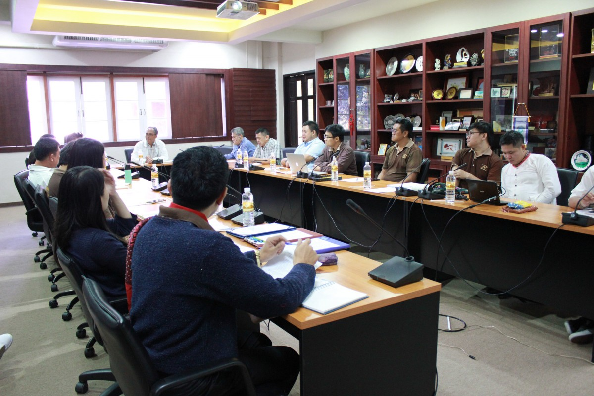 Cultural Studies Center held the meeting for summarizing the participation in the Loy Krathong Parade Contest 2019