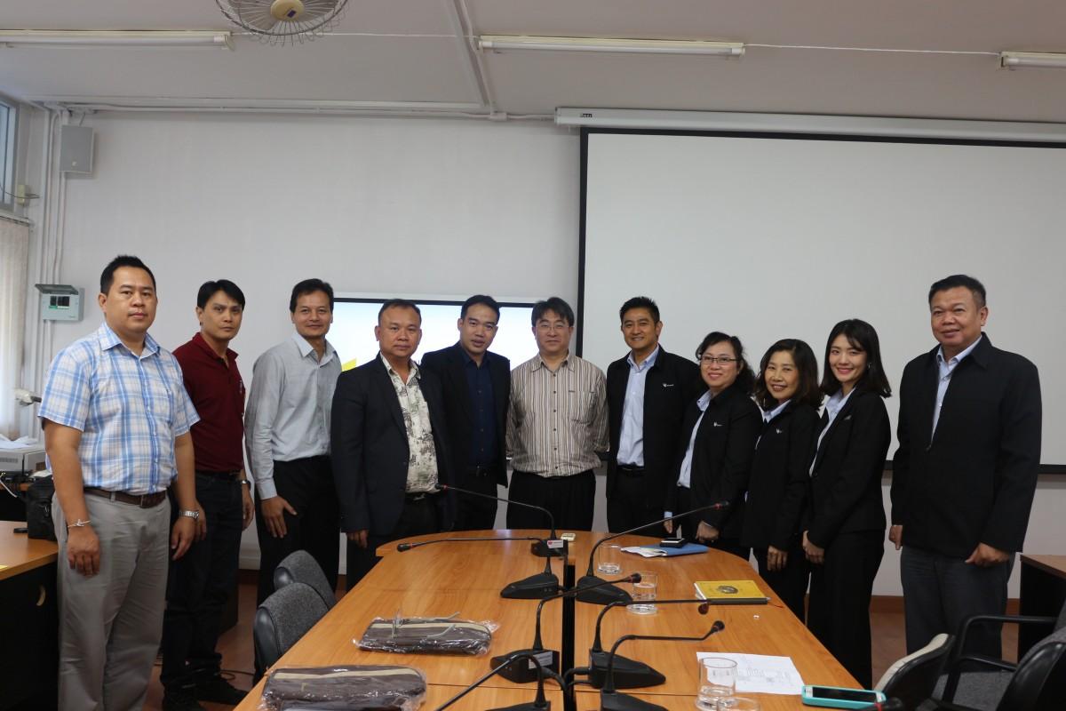 บริษัทไทยออยล์ เอนเนอร์ยี เซอร์วิส จำกัด จัดกิจกรรมประชาสัมพันธ์เปิดรับสมัครงาน ให้กับนักศึกษา ปวส ปี 2 คณะวิศวกรรมศาสตร์