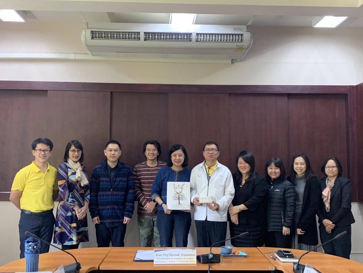 การประชุมร่วมกับคณะผู้แทนจาก Singapore Polytechnic (SP)  ประเทศสิงคโปร์