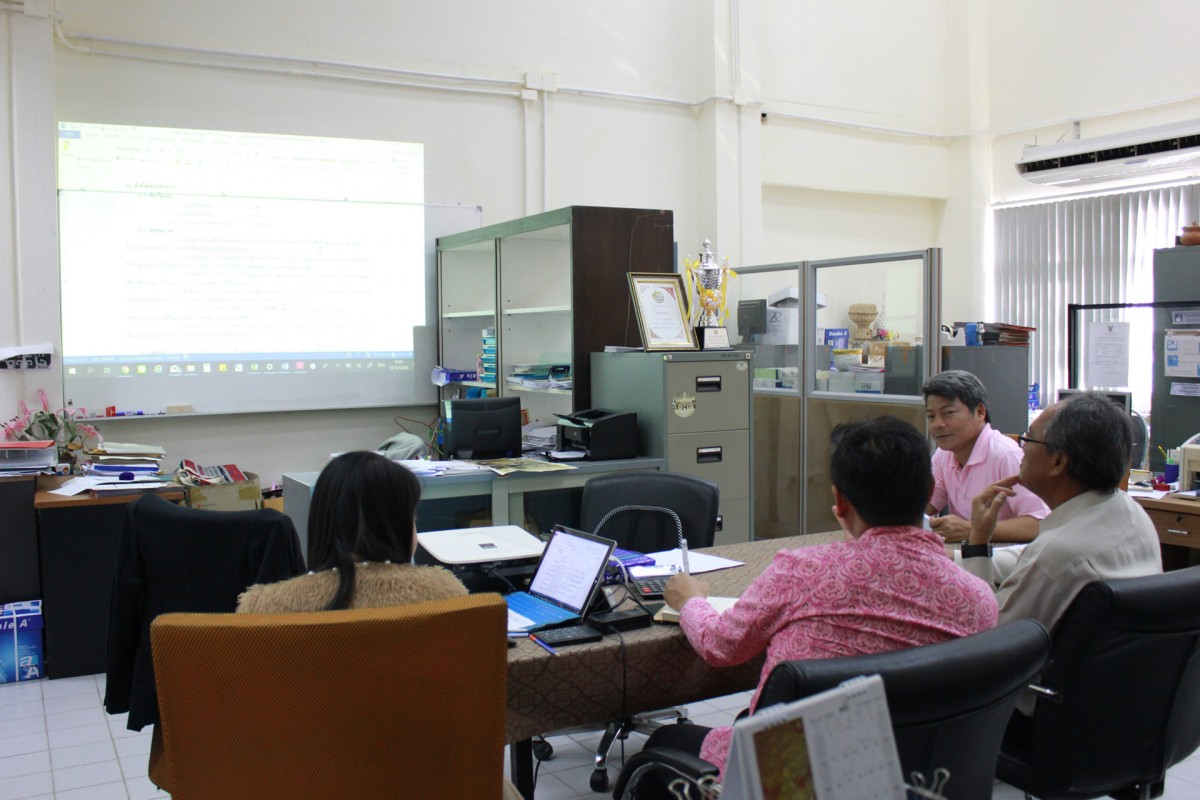 The Cultural Studies Center personnel held the 2nd meeting with the Vice President for Spacial Affairs to considering the defective detail of the budget annual project 2020