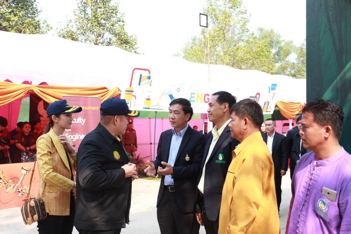 ผู้ช่วยอธิการบดี และผู้บริหาร มทร.ล้านนา น่าน ร่วมให้การต้อนรับรัฐมนตรีช่วยว่าการกระทรวงเกษตรและสหกรณ์