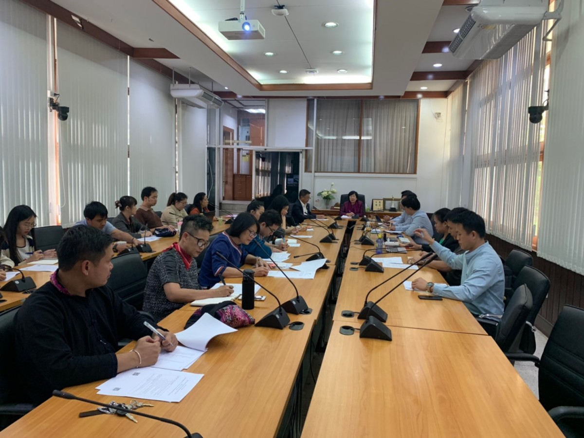 RMUTL organized a meeting to set guidelines for knowledge management in organizations