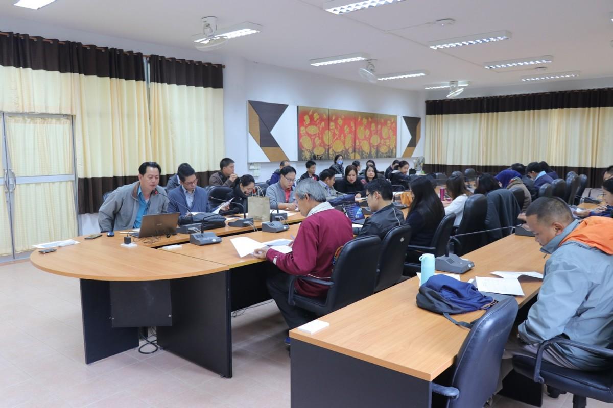 มทร.ล้านนา เชียงราย จัดการประชุมหารือแนวทางการดำเนินโครงการทุนวัตกรรมสายอาชีพชั้นสูง ปีการศึกษา 2563