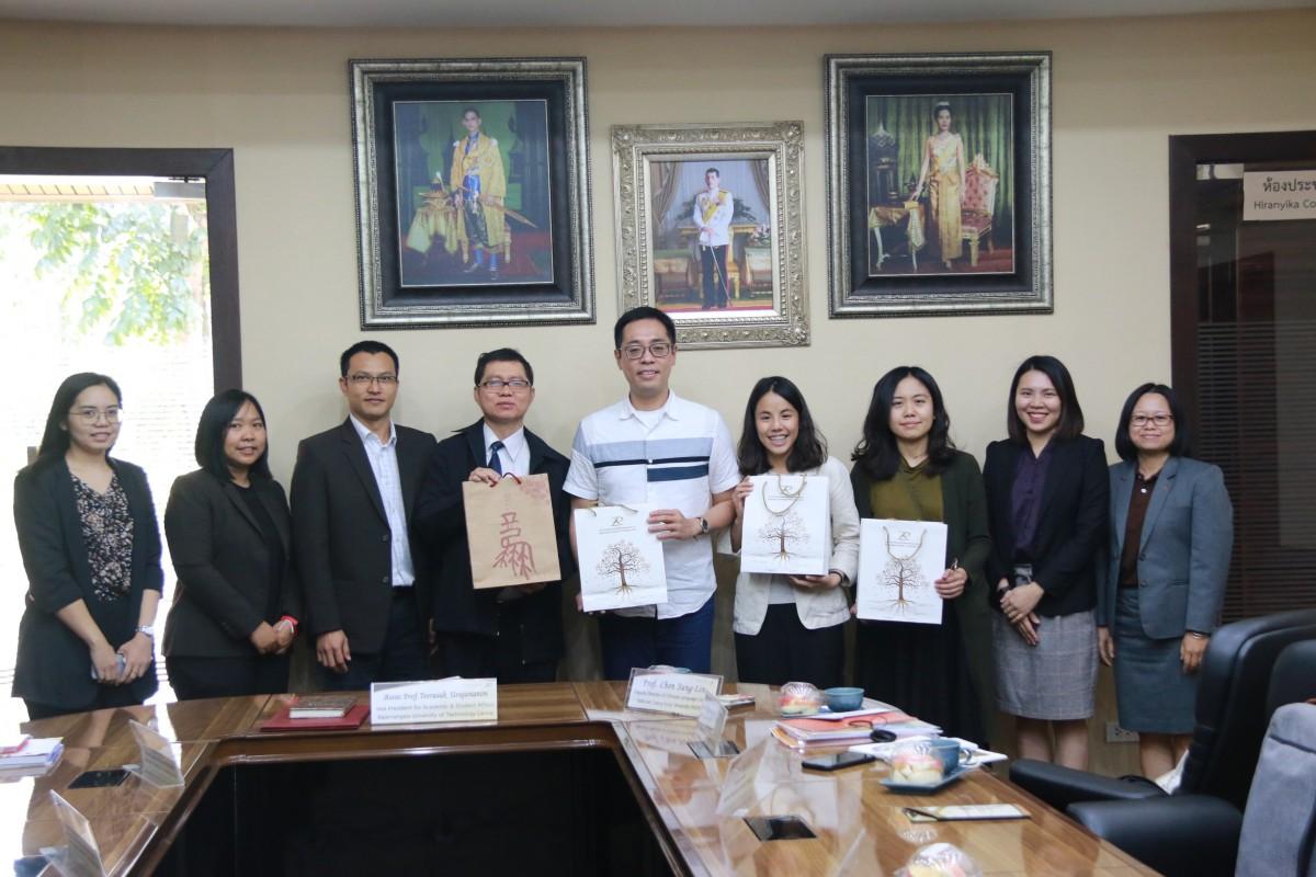 มทร.ล้านนา หารือร่วม NCKU ไต้หวัน สร้างความร่วมมือการเรียนการสอนภาษาจีน