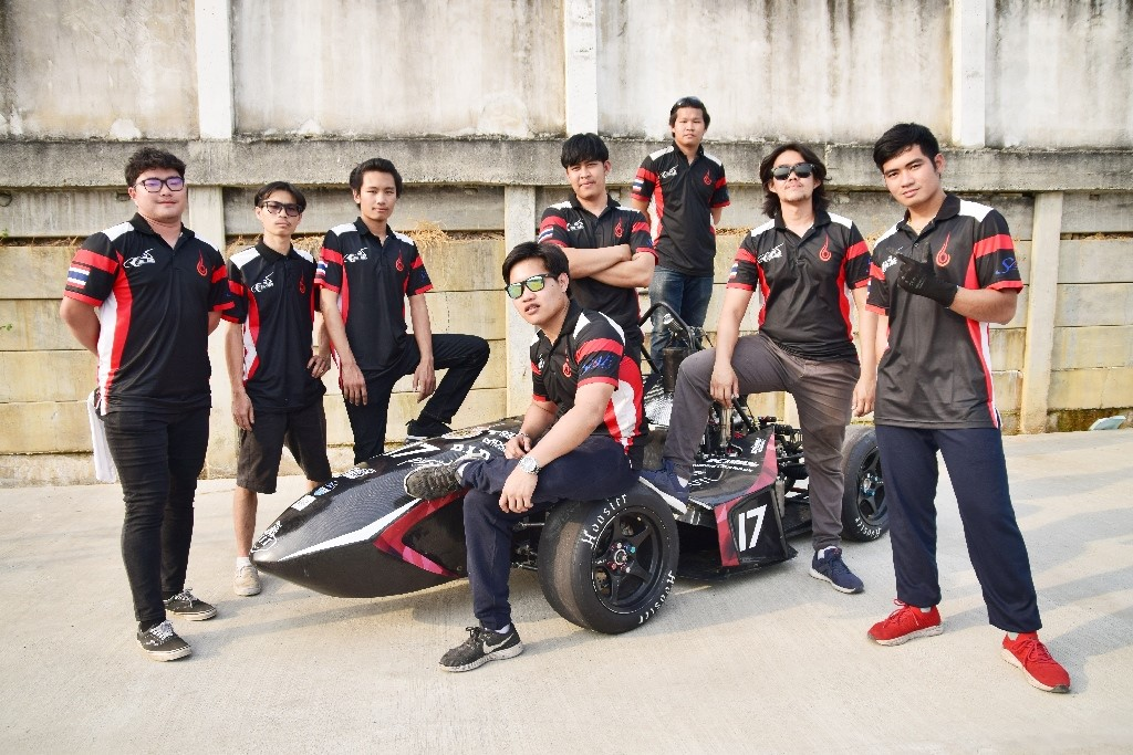 Real Team RMUTL won the 1st prize for Best Improvement at the 16th TSAE Auto Challenge 2020 Student Formula