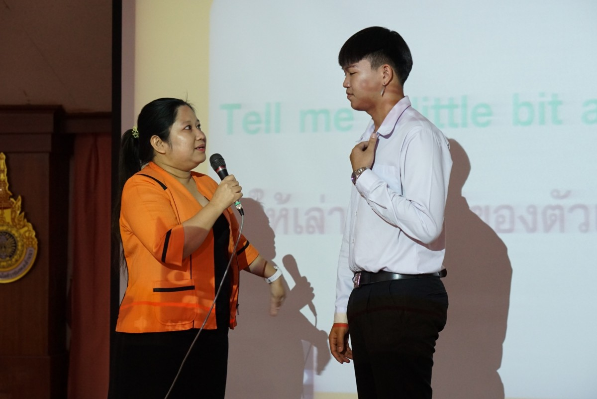 หลักสูตรภาษาอังกฤษเพื่อการสื่อสารสากลจัดสัมมนา หัวข้อ ภาษาอังกฤษเพื่อการสัมภาษณ์งาน