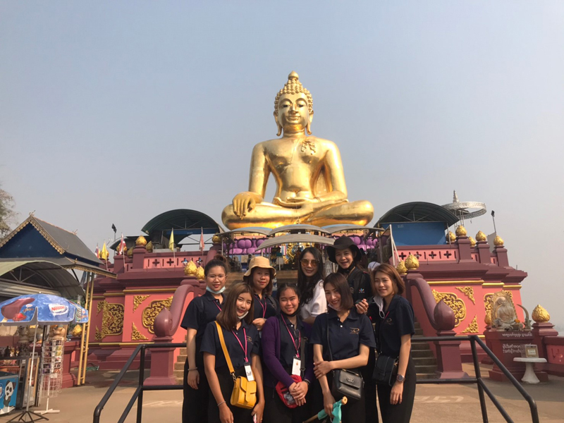 Tourism and Hospitality program, RMUTL Lampang organized a simulated tour for learning in guide career