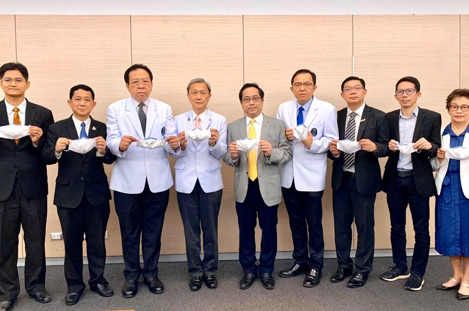 RMUTL cooperate with Siriraj -TCELS and network partners participate in research on the development of innovative nano dust-mite cloth mask with COVID-19 protection.