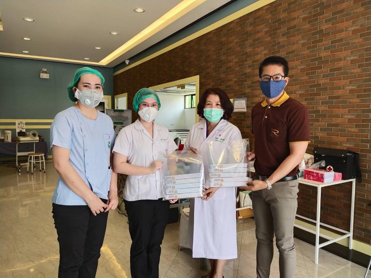 มทร.ล้านนา เชียงราย ร่วมส่งกำลังใจให้กับทีมแพทย์ ด้วยการส่งมอบหน้ากากคลุมหน้า (Face Shield)