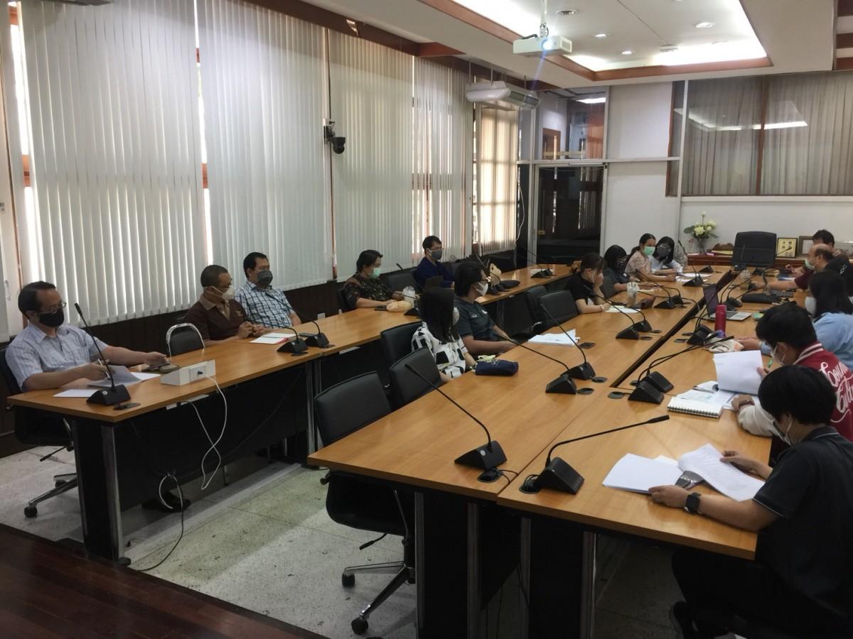 ประชุมเพื่อหารือการจัดทำข้อมูลนักศึกษาและบัณฑิตของหลักสูตร