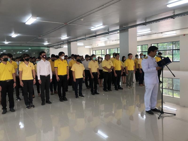 วิทยาลัยเทคโนโลยีและสหวิทยาการ จัดพิธีลงนามถวายพระพรชัยมงคล 68 พรรษา พระบาทสมเด็จพระเจ้าอยู่หัว รัชกาลที่ 10 ประจำปี 2563