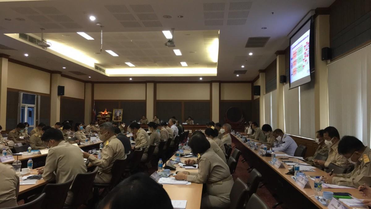 ผู้ช่วยอธิการบดี มทร.ล้านนา เชียงราย เข้าร่วมการประชุมกรมการจังหวัดและหัวหน้าส่วนราชการประจำจังหวัดเชียงราย ครั้งที่ 7/2563