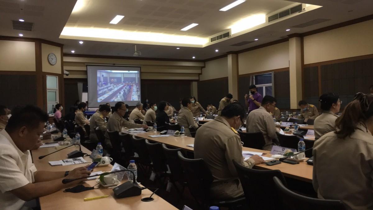ผู้ช่วยอธิการบดี มทร.ล้านนา เชียงราย เข้าร่วมการประชุมหัวหน้าส่วนราชการประจำจังหวัดเชียงราย ครั้งที่ 9/2563
