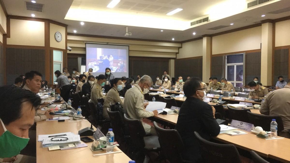 ผู้ช่วยอธิการบดี มทร.ล้านนา เชียงราย เข้าร่วมการประชุมกรมการจังหวัดและหัวหน้าส่วนราชการประจำจังหวัดเชียงราย ครั้งที่ 10/2563