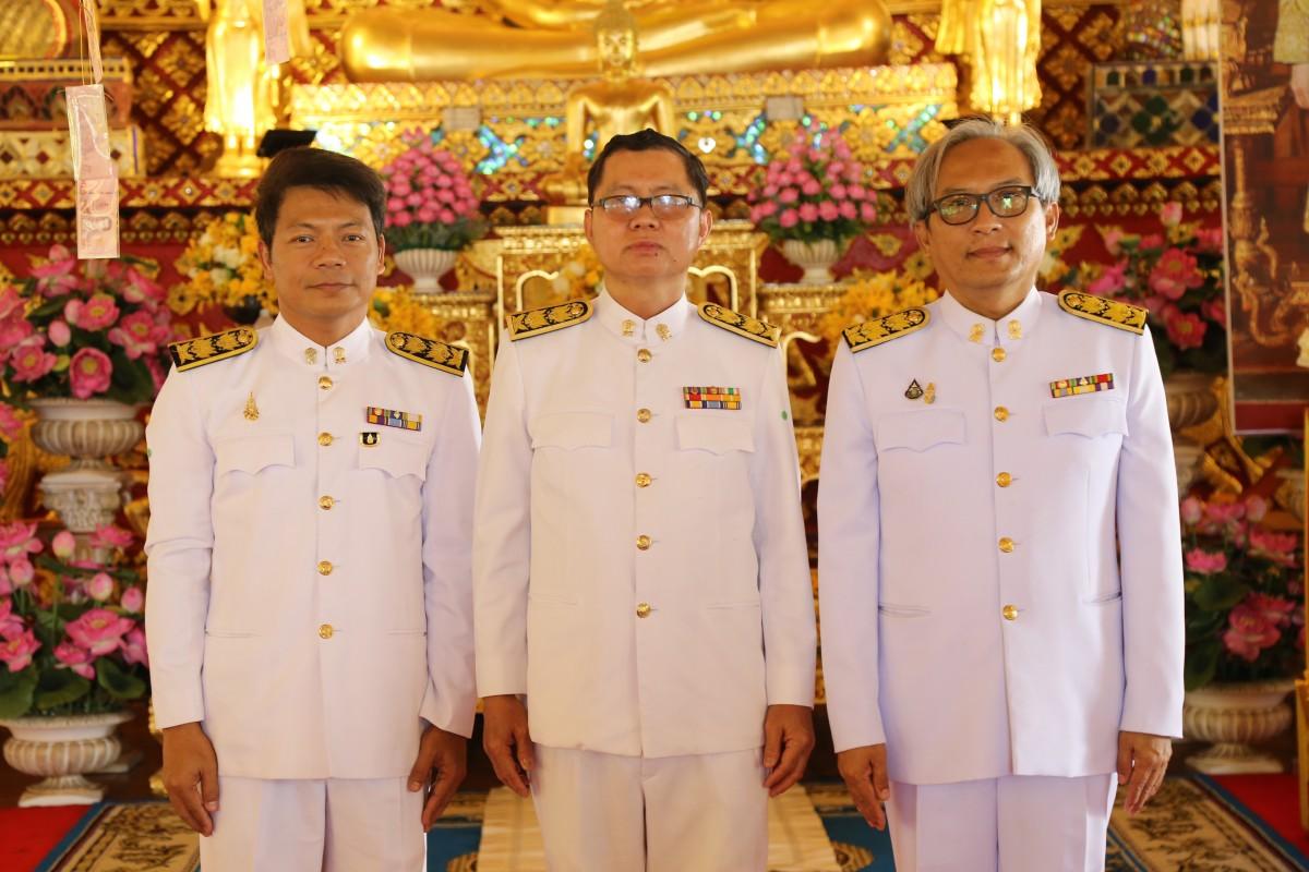 คณะผู้บริหาร มทร.ล้านนา ร่วมพิธีทอดผ้าป่าสมทบทุนโครงการทุนเล่าเรียนหลวงสำหรับพระสงฆ์ไทย