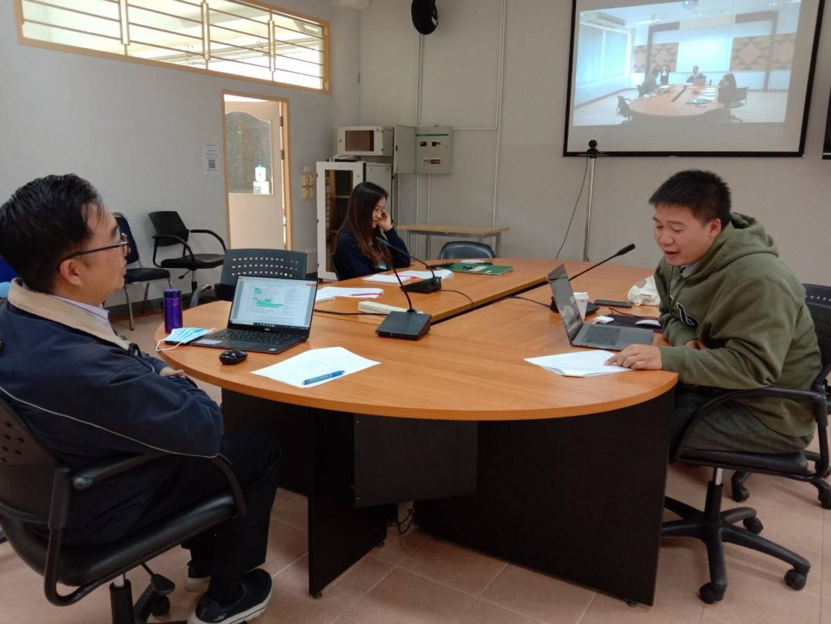 งานกิจการนักศึกษา ประชุมหารือเรื่อง หลักเกณฑ์การจ่ายเงินค่าบริการสุขภาพนักศึกษา ผ่านระบบ VDO CONFERENCE