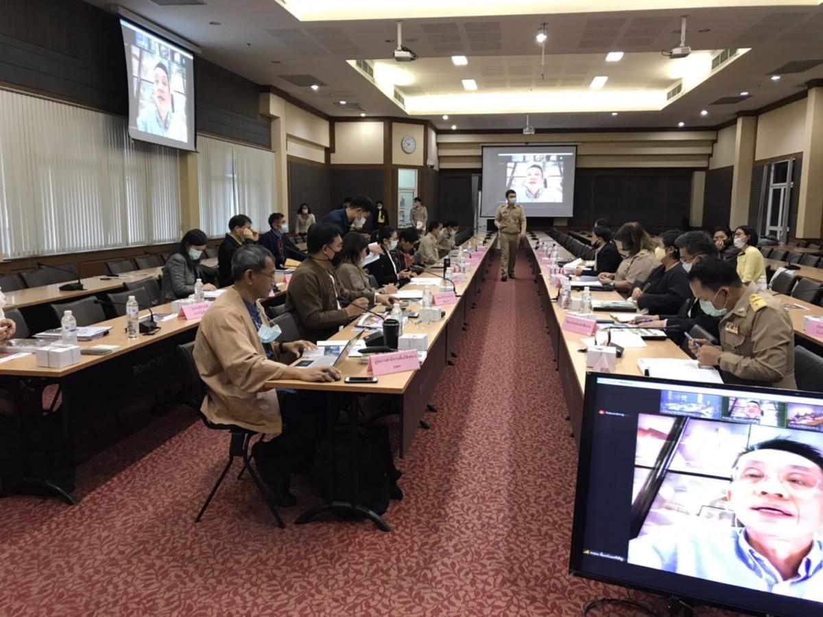 ผู้ช่วยอธิการบดี มทร.ล้านนา เชียงราย เข้าร่วมการประชุมคณะกรรมการขับเคลื่อนเมืองเชียงรายเป็นเครือข่ายเมือง สร้างสรรค์ของ UNESCO ครั้งที่ 1/2564