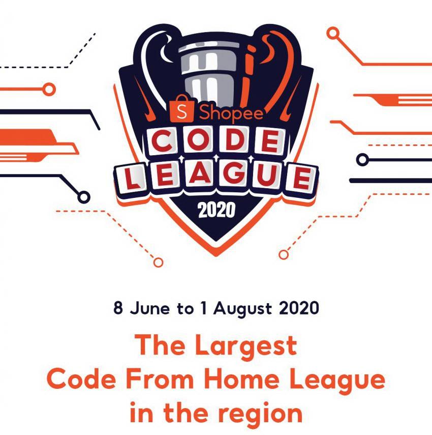 ประชาสัมพันธ์กิจกรรมการแข่งขัน Shopee Code League 2021