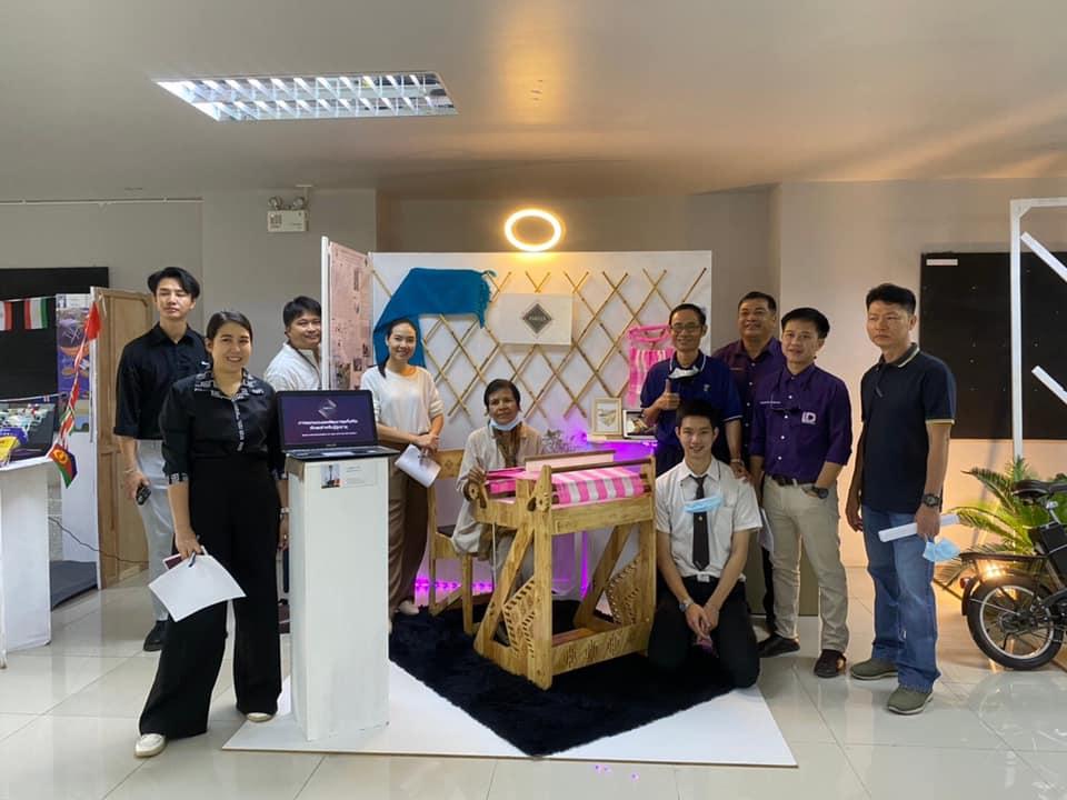 นักศึกษาชั้นปี 4 หลักสูตรออกแบบอุตสาหกรรม จัดแสดงผลงานนิทรรศการการออกแบบสร้างสรรค์ผลิตภัณฑ์ New normal