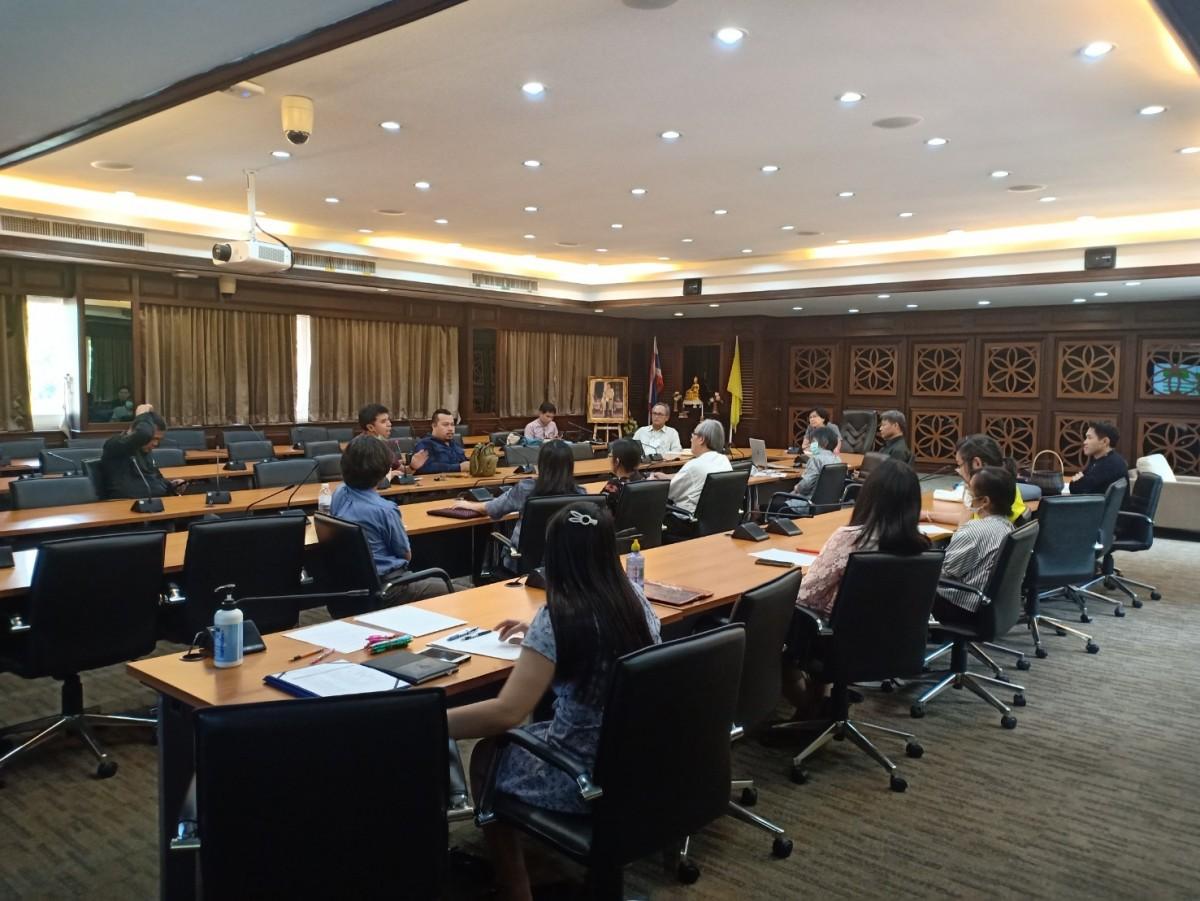 ศูนย์วัฒนธรรมศึกษาร่วมกับคณะศิลปกรรมฯ ประชุมวางแผนการจัดเตรียมโครงสร้างและองค์ประกอบรถกระทง มทร.ล้านนา ครั้งที่ 1/2564