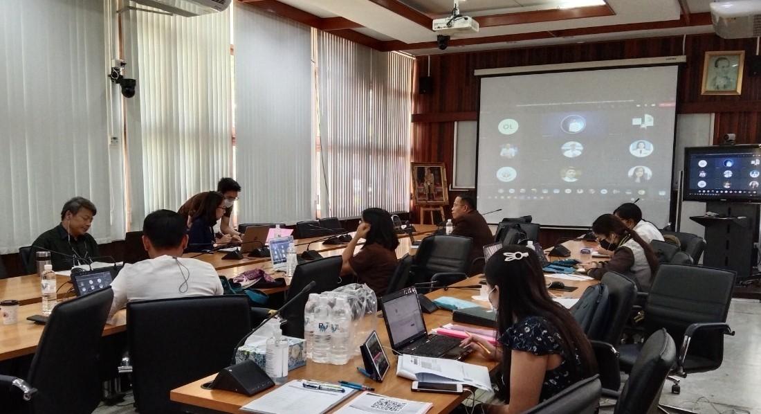 ศูนย์วัฒนธรรมศึกษาจัดโครงการประชุมพื่อขับเคลื่อนงานด้านทำนุบำรุงศิลปวัฒนธรรม ประจำปีงบประมาณ 2564