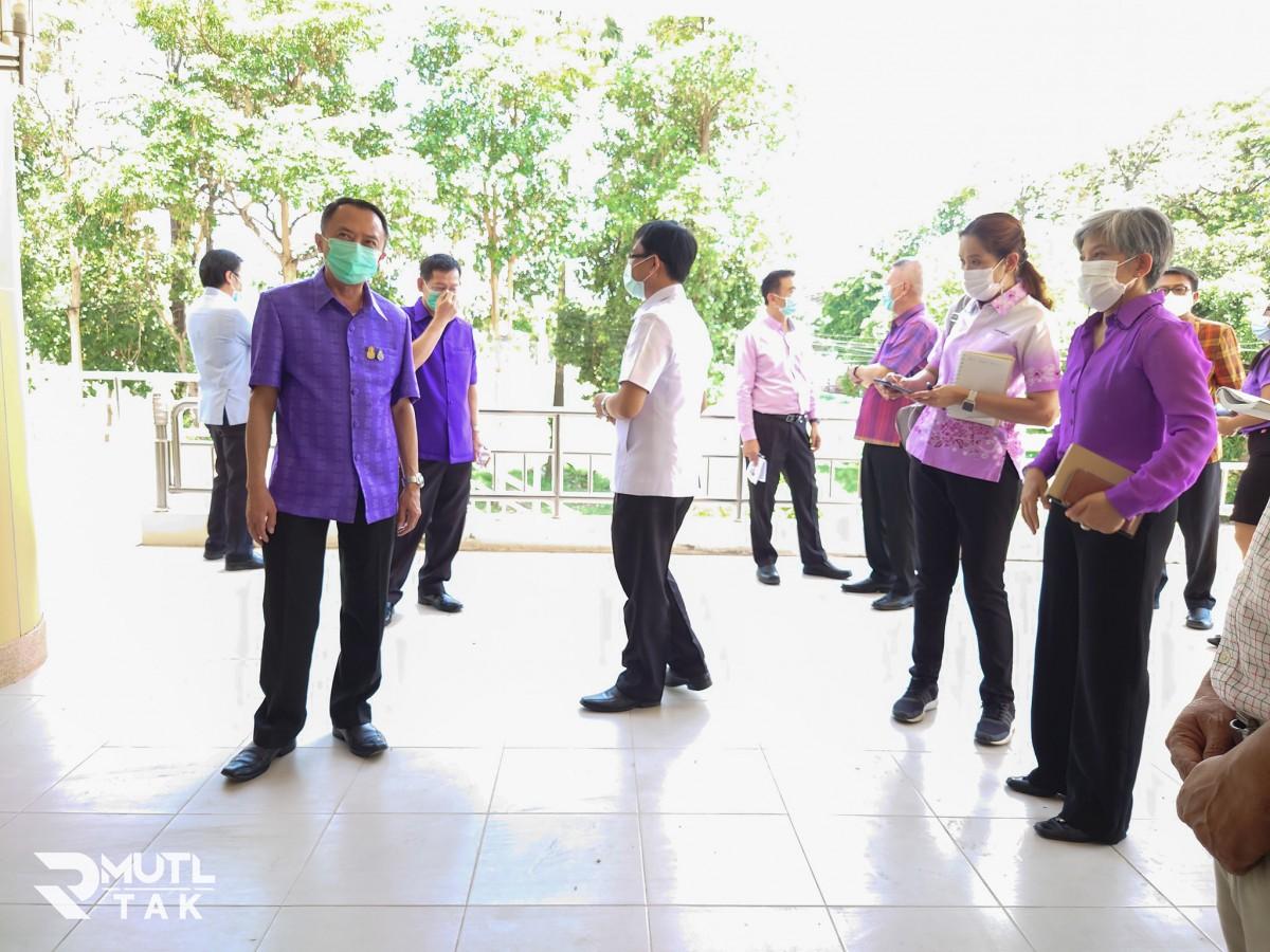 มทร.ล้านนา ตาก เตรียมพร้อมจัดตั้งโรงพยาบาลสนาม รองรับผู้ป่วยโรคโควิด-19