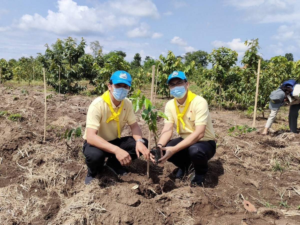 มทร.ล้านนา เชียงราย ร่วมกิจกรรมปลูกป่า เนื่องในวันต้นไม้ประจำปีของชาติ ณ พุทธมณฑลสมโภช 750 ปี