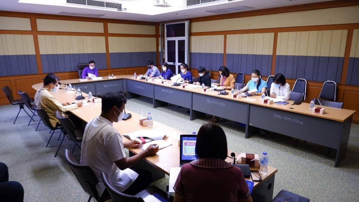 มทร.ล้านนา เชียงราย เข้าร่วมประชุมคณะทำงานขับเคลื่อนสังคมคุณธรรมเครือข่ายสถานศึกษาคุณธรรม