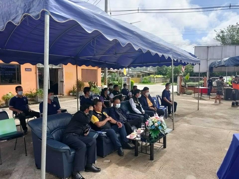 มทร.ล้านนา เชียงราย ร่วมพิธีเปิดโครงการพัฒนาศักยภาพบุคลากรด้านการป้องกันและบรรเทาสาธารณภัย ประจำปี 2564 ณ ตำบลห้วยสัก ตำบลห้วยสัก อำเภอเมืองเชียงราย
