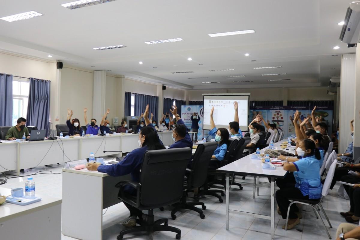 มทร.ล้านนา เชียงราย เข้าร่วมประชุมการดำเนินโครงการก่อสร้างลานจำหน่ายสินค้าชุมชน (OTOP) และอนุสาวรีย์พญาเม็งราย