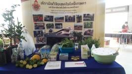 สถาบันวิจัยเทคโนโลยีเกษตรร่วมจัดนิทรรศการ และให้การต้อนรับสำนักงานภาค 3 หน่วยบัญชาการทหารพัฒนา กองบัญชาการกองทัพไทย