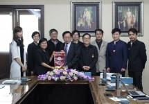 การประชุมร่วมกับ Asia University ไต้หวัน