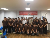 มหาวิทยาลัย Southern Taiwan University of Science and Technology จัดอบรมหลักสูตรระยะสั้นแก่นักศึกษาวิทยาลัยฯ