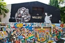WALLSPOT RMUTL โครงการพื้นที่สร้างสรรค์ศิลปะนานาชาติระหว่างชุมชนบนกำแพง