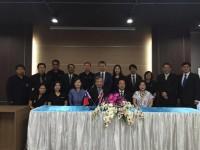 การลงนามในบันทึกข้อตกลงทางวิชาการ(MoU) ร่วมกับ Ming Chuan University ไต้หวัน
