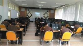 การทดสอบภาษาอังกฤษสำหรับ นศ. ปริญญาตรีชั้นปีสุดท้ายปีการศึกษา59