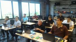 บุคลากรวิศวกรรมอิเล็กทรอนิกส์เข้าร่วมอบรมEmbedded Application