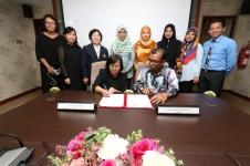 พิธีลงนามในบันทึกข้อตกลงทางวิชาการ(MoU) ร่วมกับ Langkawi Tourism Academy ประเทศมาเลเซีย