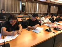 ประชุมเตรียมความพร้อมเลขานุการการประเมินคุณภาพภายใน ระดับหลักสูตร