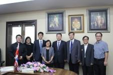 การประชุมร่วมกับผู้แทนจาก Beijing University of Chemical Technology