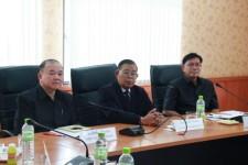 ประชุมเรื่องข้าวร่วมกับสถาบันพัฒนาสีแยกอินโดจีน