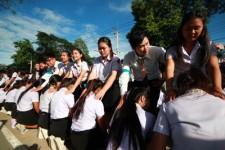 พิธีมอบรุ่นที่ 54  ให้กับนักศึกษาใหม่  ประจำปีการศึกษา 2560