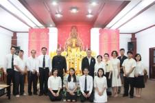 ศูนย์วัฒนธรรมศึกษา จัดโครงการส่งเสริมพระพุทธศาสนาเนื่องในวันเข้าพรรษา