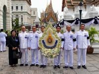ผู้แทน 9 ราชมงคล ร่วมพิธีสวดพระอภิธรรมพระบรมศพ พระบาทสมเด็จพระปรมินทรมหาภูมิพลอดุลยเดช