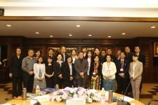 ต้อนรับผู้เข้าร่วมโครงการ Myanmar - Thailand Higher Education Institutions Leadership Development and Networking Programme