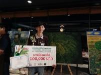 นักศึกษาชั้นปีที่ 4 ศิลปะไทย สาขาวิชาทัศนศิลป์ ได้รับรางวัลชนะเลิศที่ 1